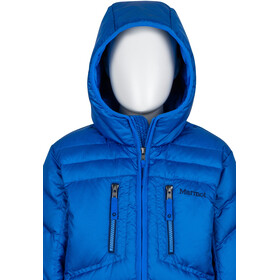 Marmot Boys Hangtime Down Hoody Jacket True Blue
